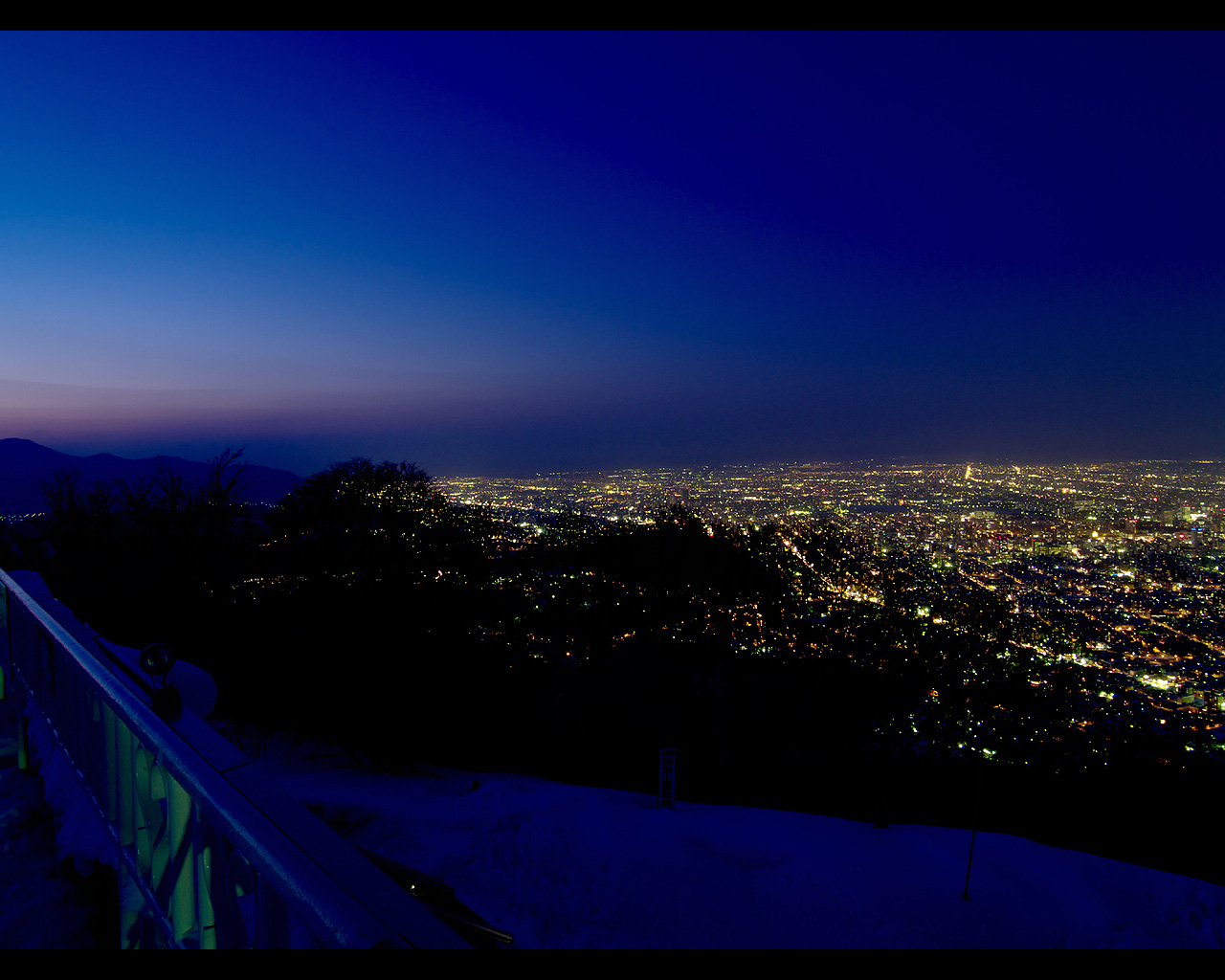 藻岩山展望台からの夜景 藻岩山展望台からの夜景 藻岩山展望台からの夜景 藻岩山展望台からの夜景