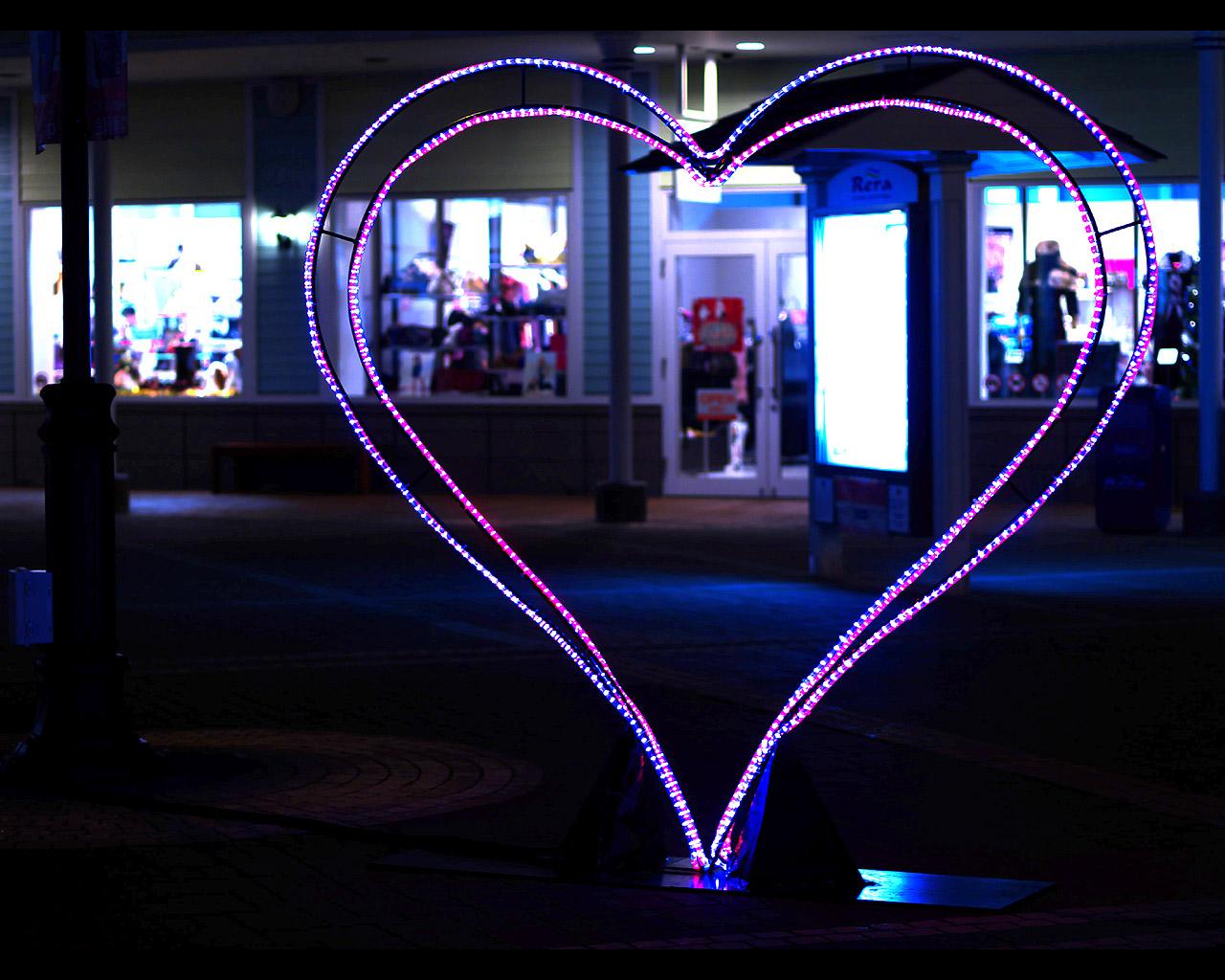 千歳アウトレットモール・レラ(Rera)の夜景写真